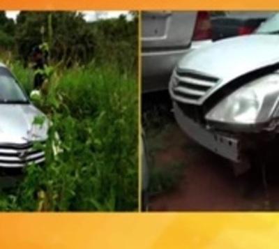 Recuperan auto robado en zona de Curuguaty