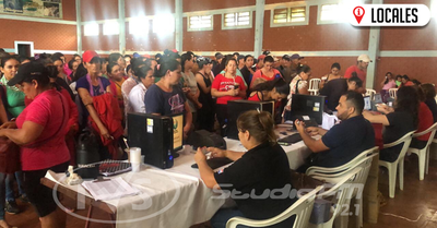 Programa Tekoporã entrega refuerzo económico a familias de Itapúa