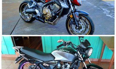 Desconocidos roban motocicletas de un taller en Santa Rita