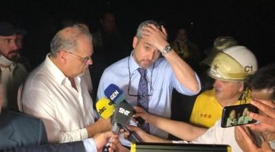 Confirman recuperación rápida del presidente Abdo