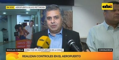 Inicia control en el aeropuerto ante alerta por coronavirus