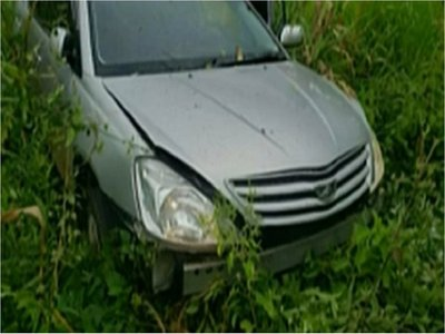 Curuguaty: Recuperan vehículo robado tras persecución policial