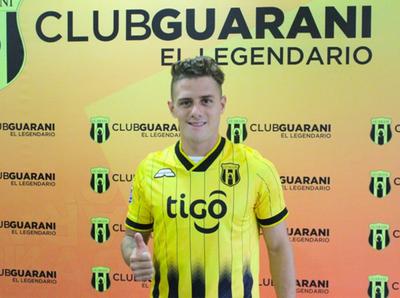 Guaraní presenta a Bautista Merlini