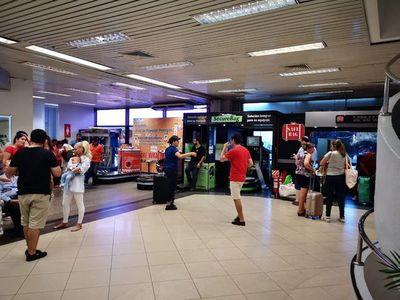 Ponen en práctica medidas de seguridad sanitaria en el Aeropuerto