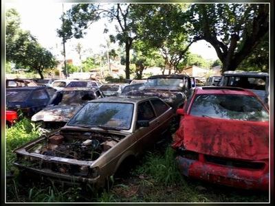 LA POLICÍA DESTRUIRÁ UNOS 9500 VEHÍCULOS CHATARRA ABANDONADOS