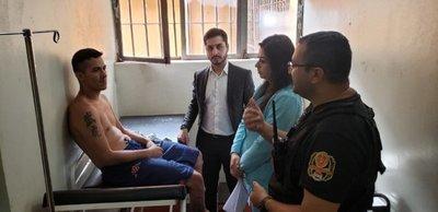 Reo negó supuesta brutal golpiza en Penal de PJC según defensora pública