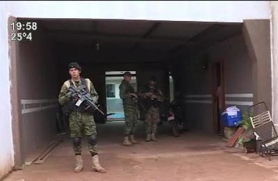 Pedro Juan Caballero : Allanaron casa del ex jefe de seguridad