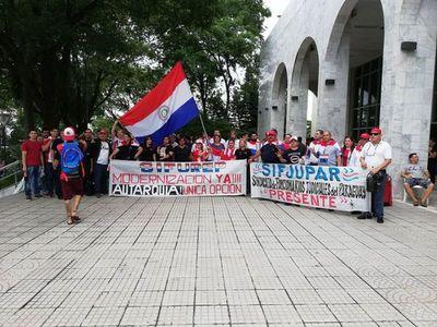 Confirman ilegalidad de huelga de judiciales
