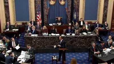 Los demócratas expusieron sus argumentos en el juicio político a Trump