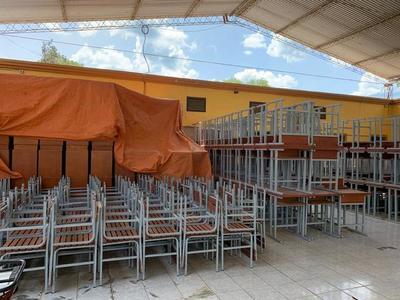 Invierten más de 700 millones de guaraníes en equipamientos para escuelas
