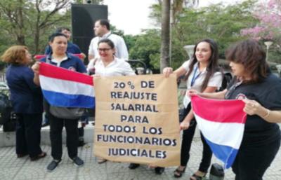 Funcionarios judiciales presentarán acción de inconstitucionalidad