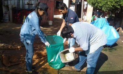 El 90% de los pobladores de Central tienen criaderos de dengue en sus casas