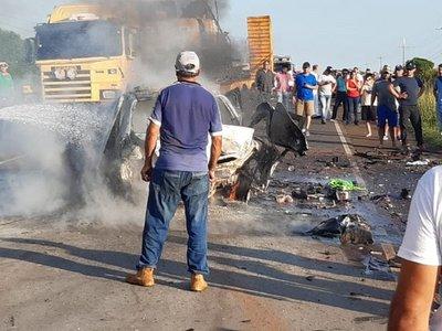 Triple choque fatal en San Patricio, Misiones