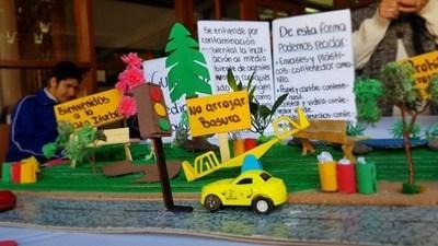 Presentan exposición fotográfica en el marco del día nacional de la Educación Ambiental