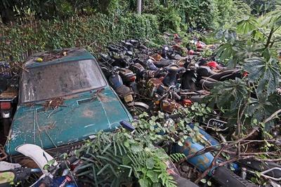 Juzgado autoriza al MOPC a eliminar vehículos abandonados, potenciales criaderos del dengue