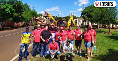 Autoridades municipales iniciaron minga ambiental en el barrio San Pedro de Encarnación