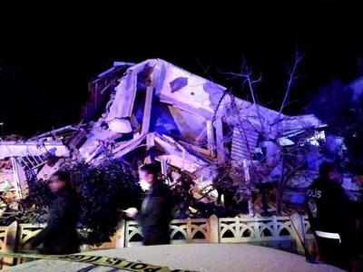 Paraguay manifiesta su solidaridad a Turquía tras terremoto que dejó al menos 22 muertos
