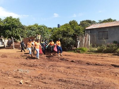 Intervienen en barrios críticos para eliminar criaderos en CDE
