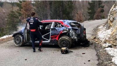 WRC 2020: El vigente campeón causó flor de susto en Montecarlo