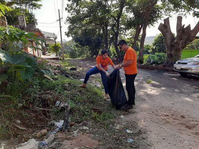 Segunda jornada de limpieza masiva contra el dengue