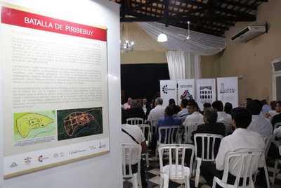 """Muestra itinerante """"Paraguay 1.869, un país en guerra"""" fue habilitado en San Bernardino"""