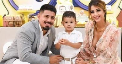 Pati Ginzo festejó el cumpleaños y bautismo de su hijo