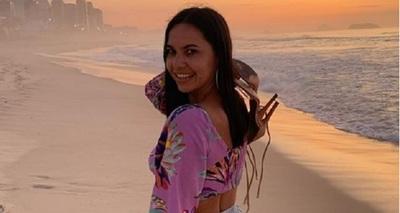 Meli Quiñonez disfruta un mes de vacaciones en Brasil