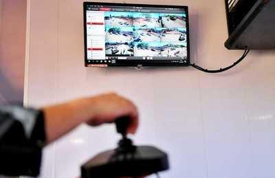 Moderno sistema de videovigilancia permite seguimiento en tiempo real de las obras del Multiviaducto