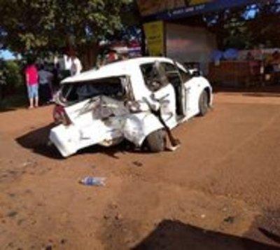 Varios heridos tras choque en cadena en Minga Guazú