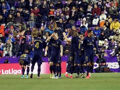 Real Madrid se sitúa como líder gracias a un cabezazo de Nacho