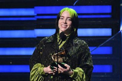 Billie Eilish se consagra al ganar cinco Grammy en las principales categorías