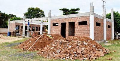 Lenta construcción de la terminal de buses arroyense