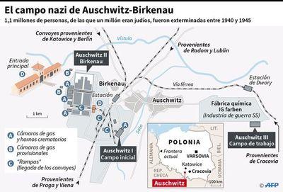 El mundo recuerda hoy liberación de  Auschwitz