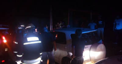 DESCONTROL TOTAL: Atropelló a motocas y fue casi linchado