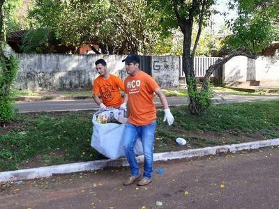 CDE: operativo antidengue recogió más de 70.000 kilos de basura
