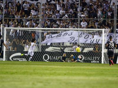 El gol de Blas Cáceres en la fecha 2 del Apertura