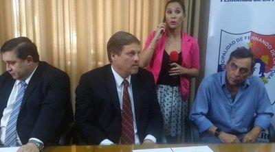 Resaltan millonaria inversión de ESSAP para alcantarillado sanitario en Fernando de la Mora