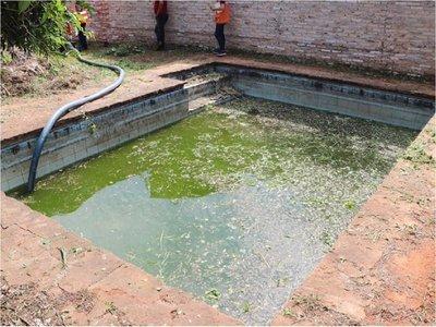 Allanamientos en Lambaré en lucha contra criaderos de mosquitos