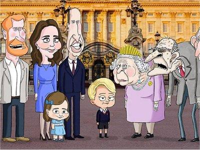 La familia real británica tendrá una serie de los creadores de Family Guy