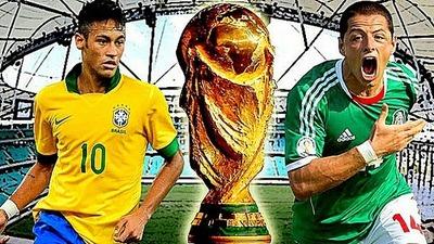 Brasil vs Mexico en vivo Mundial Brasil 2014 (previa, hora, alineaciones)