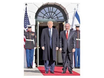 Trump presenta hoy su plan de paz para Oriente Medio