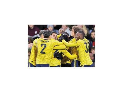 Arsenal se anota en  3ª fase de la FA Cup