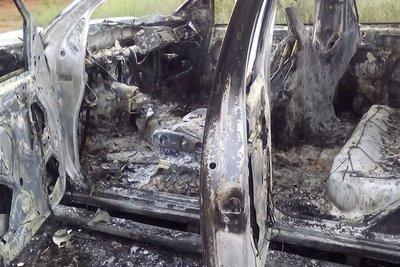 Vehículos chatarra se incendiaron en Mariano Roque Alonso