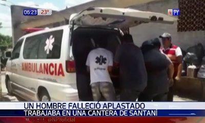 Hombre muere aplastado mientras reparaba su camión