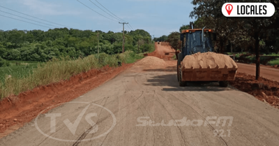 Construcción de nuevo asfaltado en el nordeste de Itapúa potenciará el sector agroindustrial
