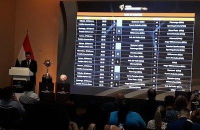 Cerro y Libertad con rivales fuertes para la Libertadores Sub 20