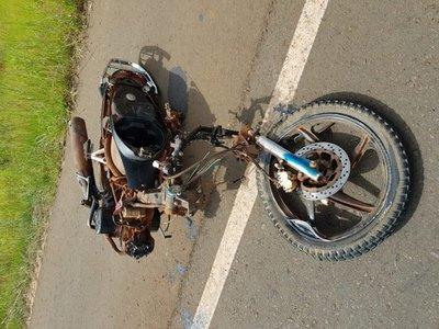 Yhú: Motociclista muere tras ser embestida por furgoneta