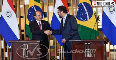 Canciller de Brasil realizará visita oficial a Paraguay para tratar temas de la agenda bilateral