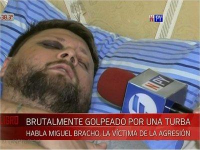 Automovilista agredido acusa a policías de no haberlo socorrido