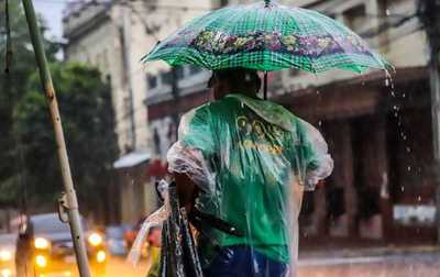 Mitad de semana con clima caluroso y lluvioso